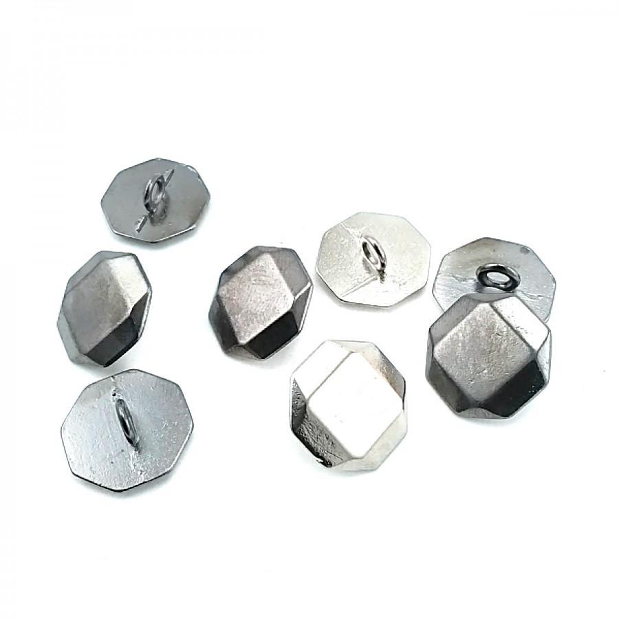 Ayaklı Düğme Sekizgen Şekilli 17 mm - 27 Boy D 0002