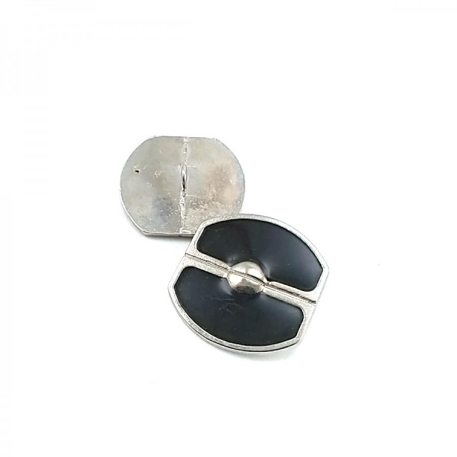 Retro Tasarımlı Ve Mineli Ayaklı Düğme 28 mm - 45 Boy D 0016