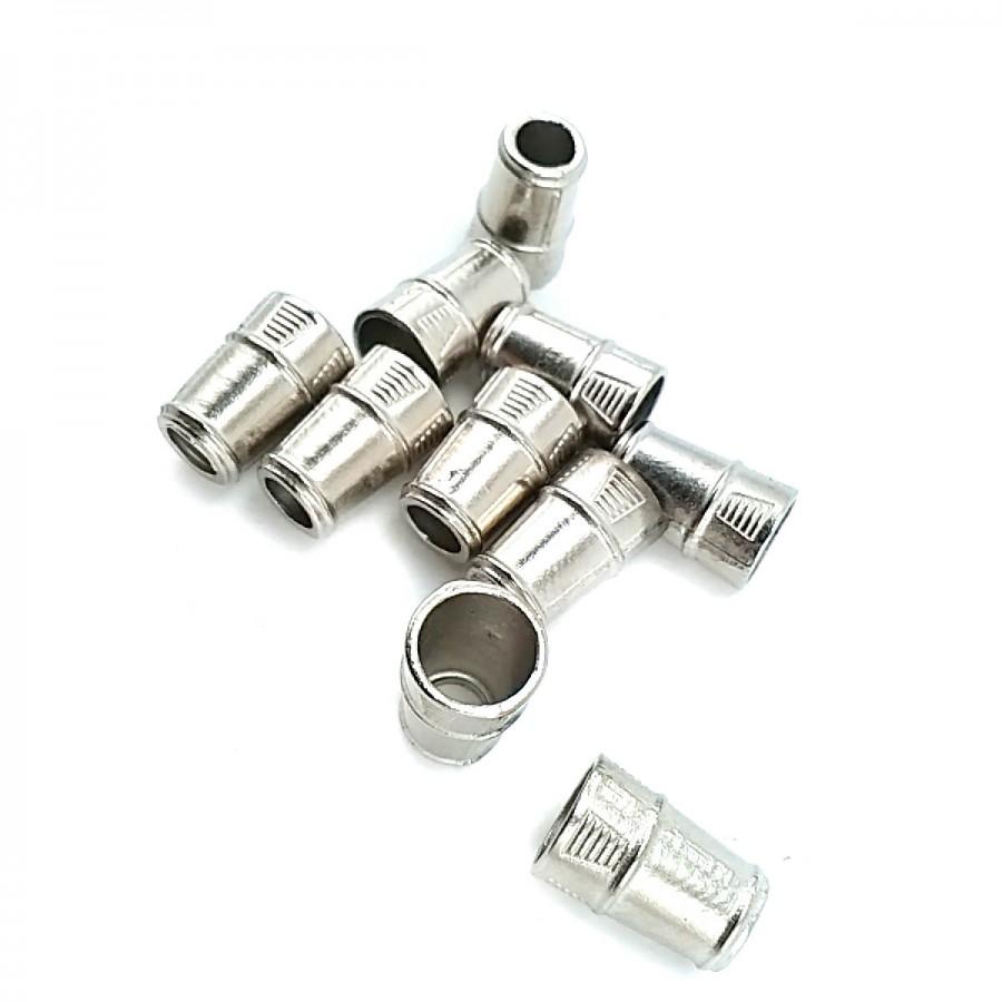 Metal Bağ ucu boy 9 mm giriş 7 mm B0001