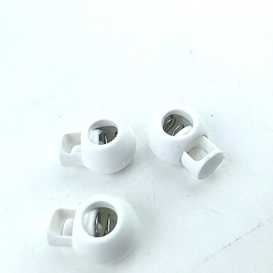 Tek Delikli Plastik Stoper 22 mm boylu 7 mm delik çaplı  B0013