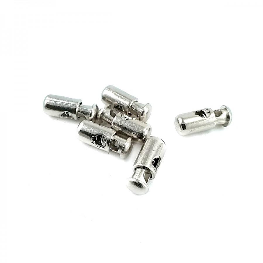 Sade Tasarımlı Metal Stoper 20 mm boylu 6 mm delikli  B0014