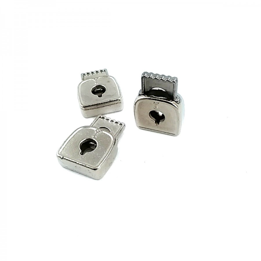 Tek Delikli Metal Stoper 23 x 17 mm boylu 6 mm delik çaplı  B0024