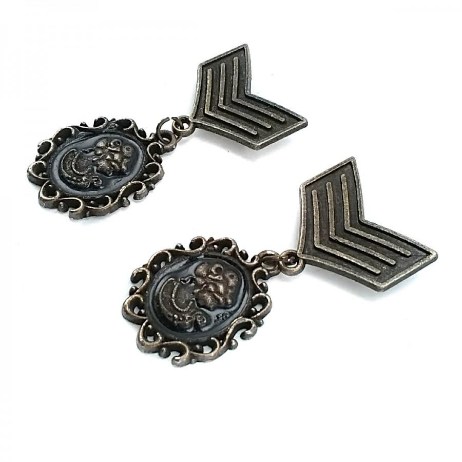 Armalı Madalya Tipi Broş BRS0004