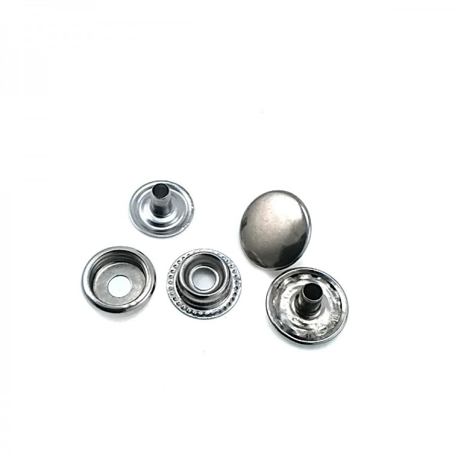 Saç Çıtçıt Düğme 15 mm 24 boy C0004