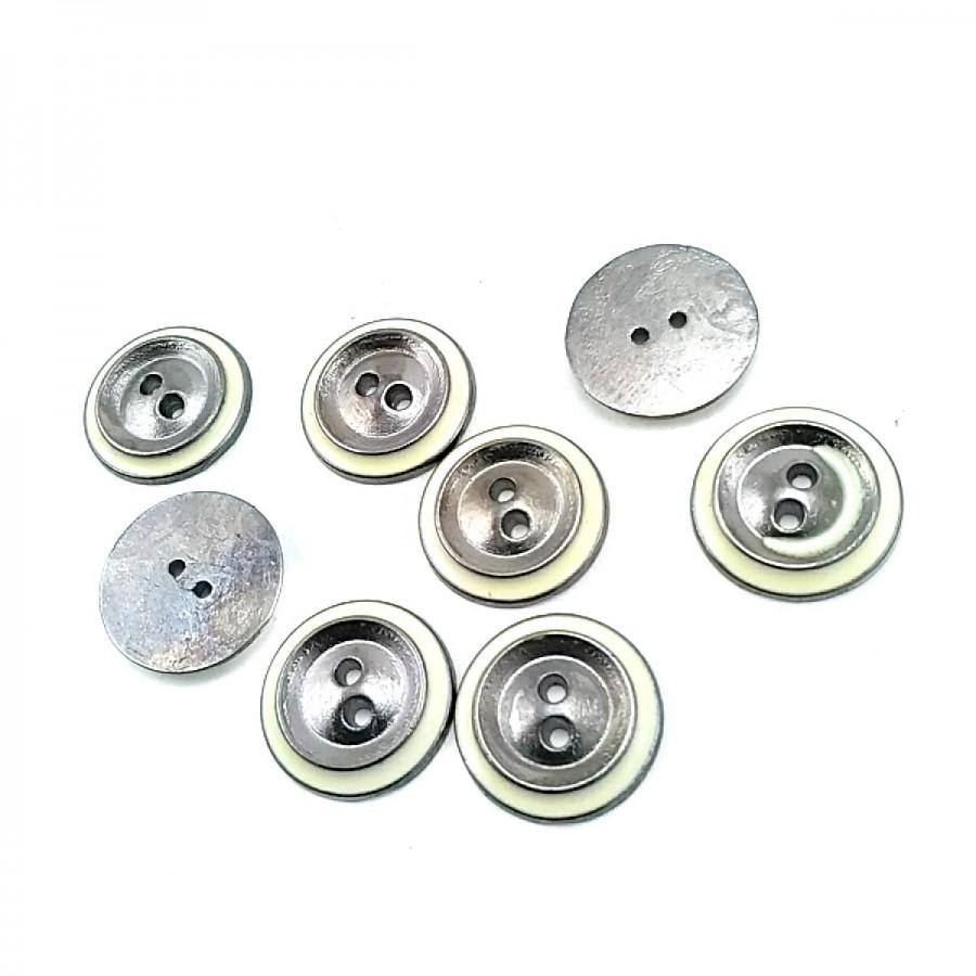 Mineli İki Delikli Düğme 16 mm - 26 Boy D 0014
