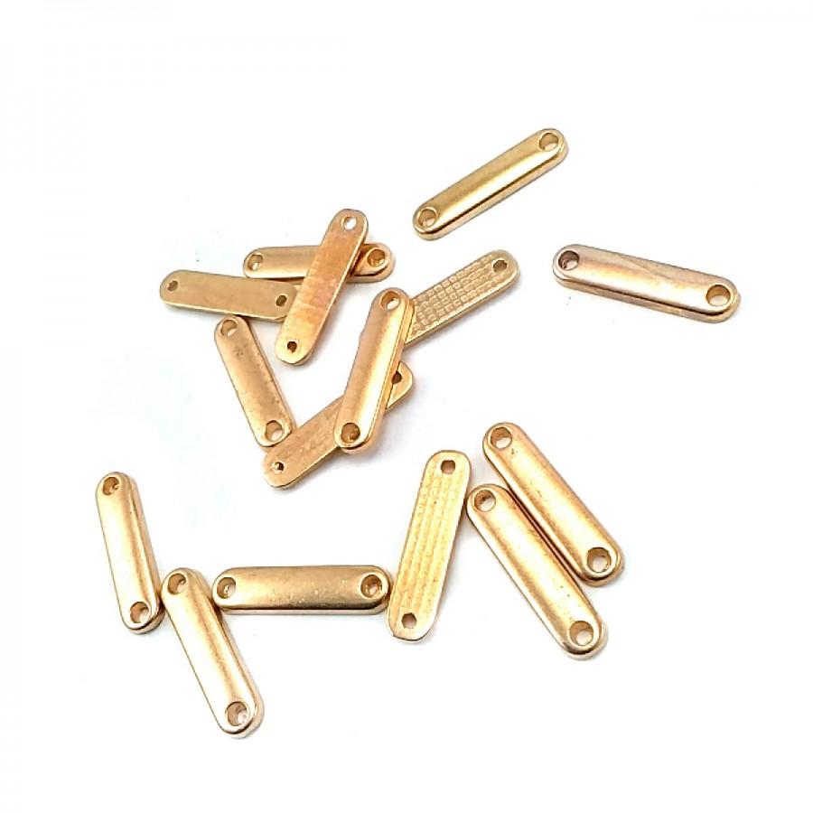 20 x 4 mm Sade Metal Etiket E0003