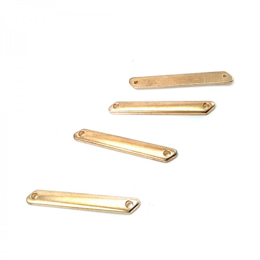 37 mm x 5 mm Sade Metal Etiket E0002