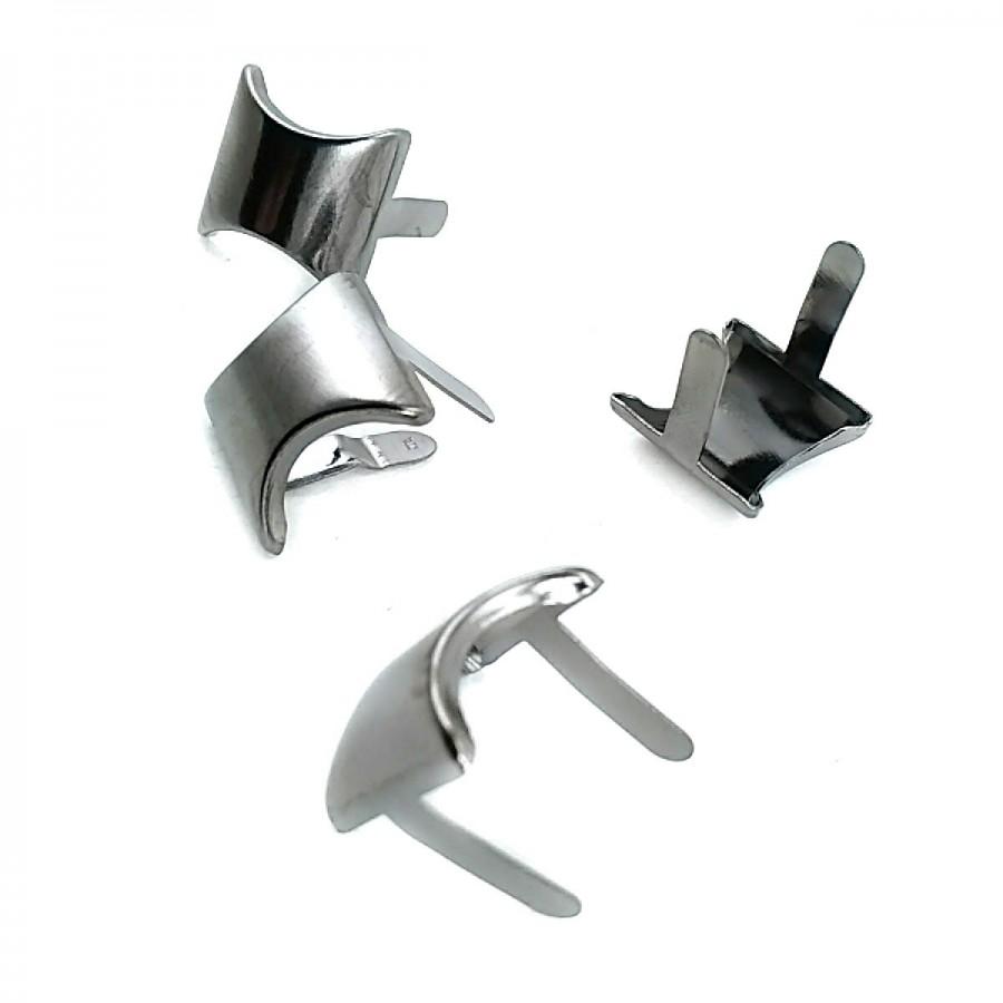 17 x 17.50  mm Sade Oval Metal Fiyonk F0010