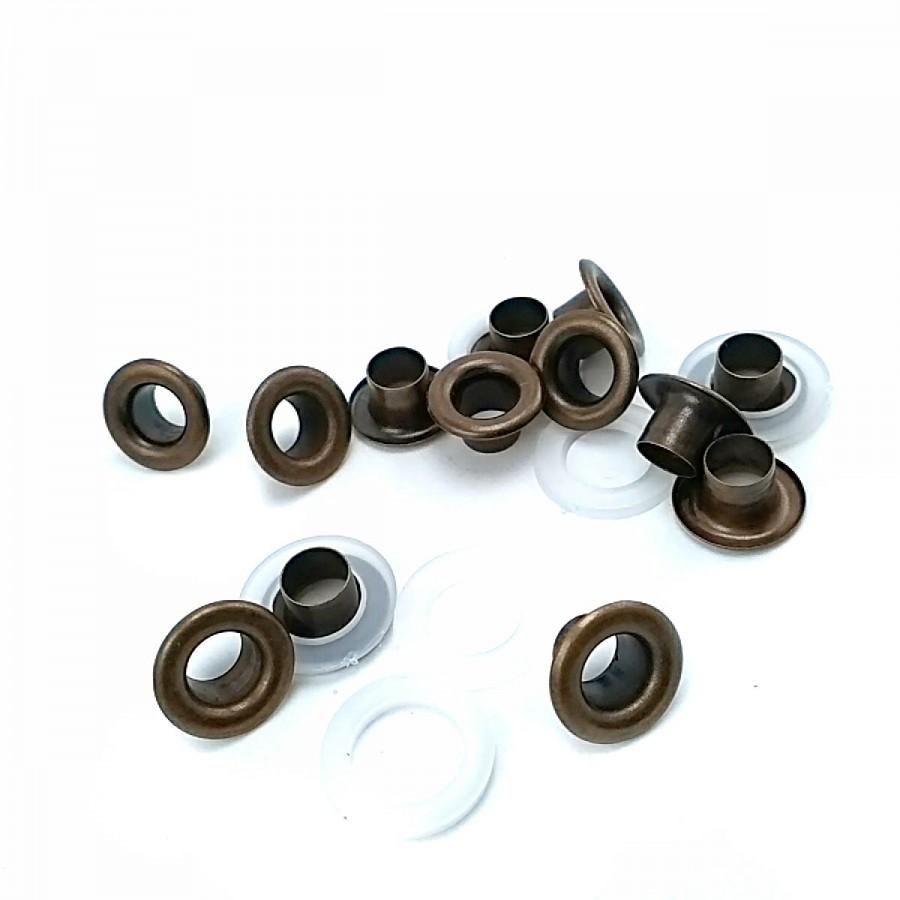 12 mm - No 4 Metal Kuşgözü (250 Ad/Paket) K0002