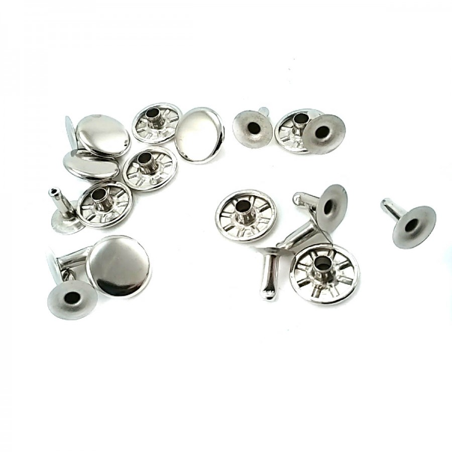 Sade Metal Perçin 12 mm 20 boy R0004