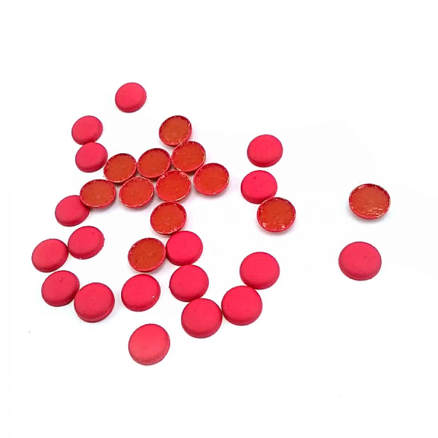 9 mm 14 boy Kırmızı Renkli Plastik Yapıştırmalı Rivet ( 250 Ad/Paket ) R0011