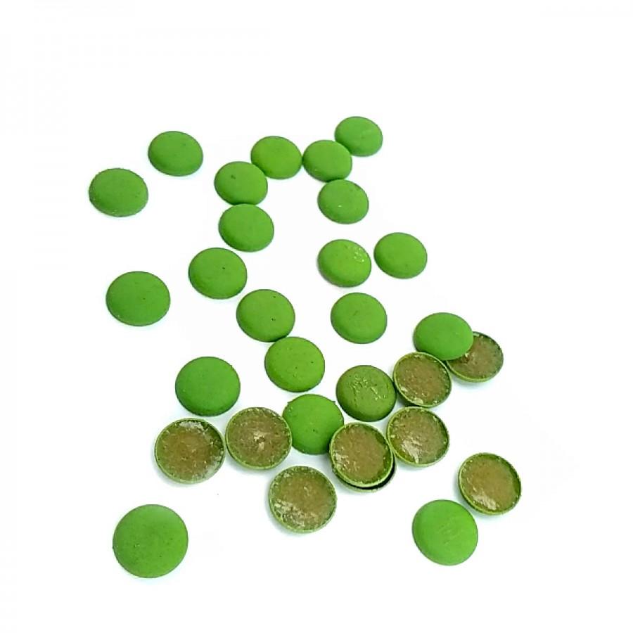 9 mm 14 boy Yeşil Renkli Plastik Yapıştırmalı Rivet (250 Adet / Paket) R0012