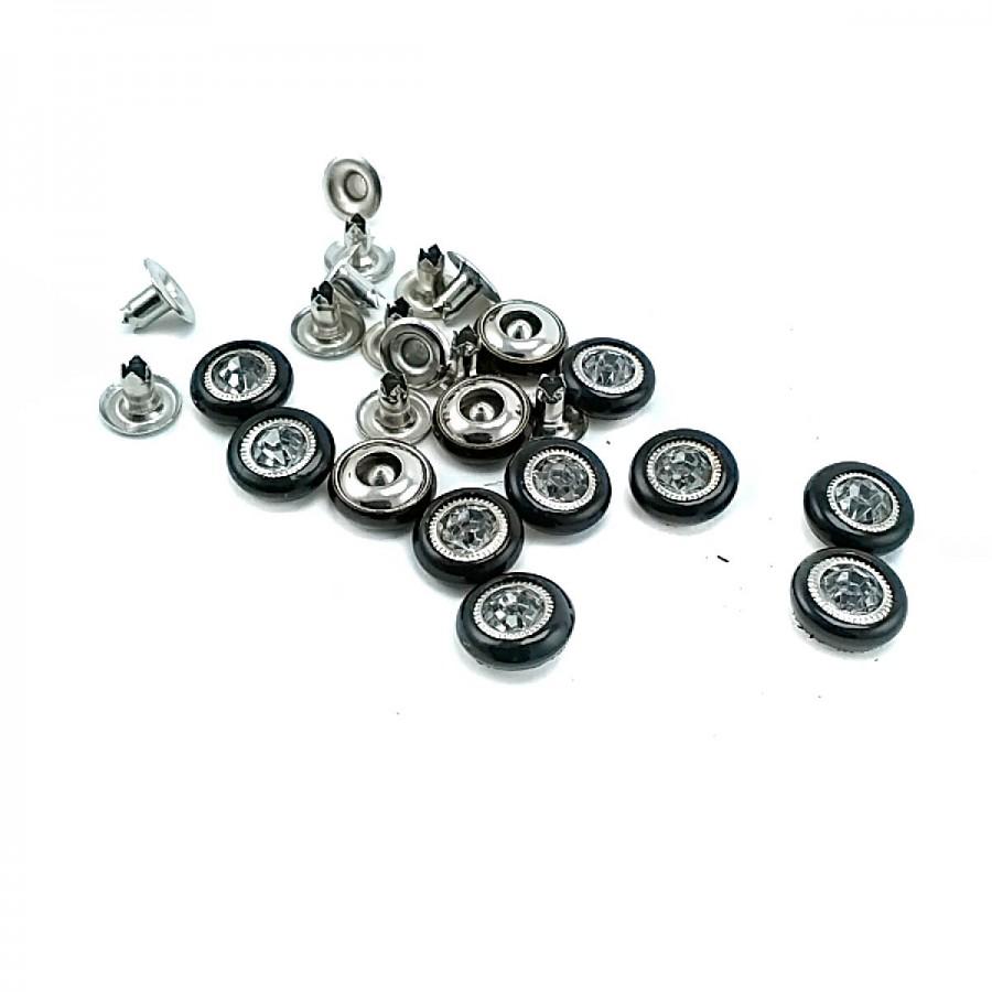 Cam Taşlı Saç Rivet 10 mm 16 boy ( 250 Ad/Paket ) R0028