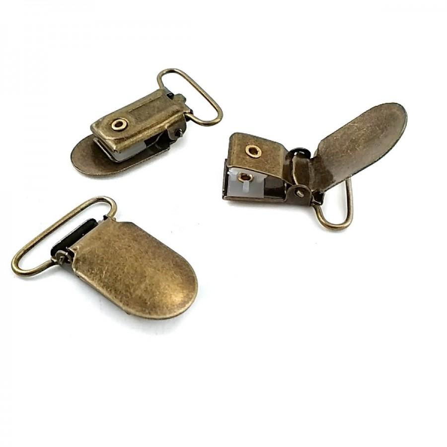 25 mm Metal Kıstırmalı Klips T0004
