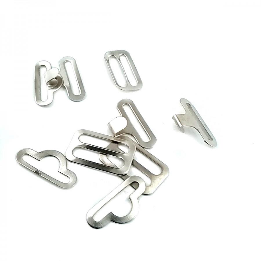 18 mm Metal Geçirmeli Kemer Tokası T0009