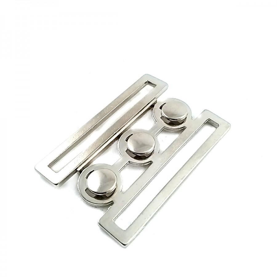 48 mm Metal Geçmeli Toka T0023
