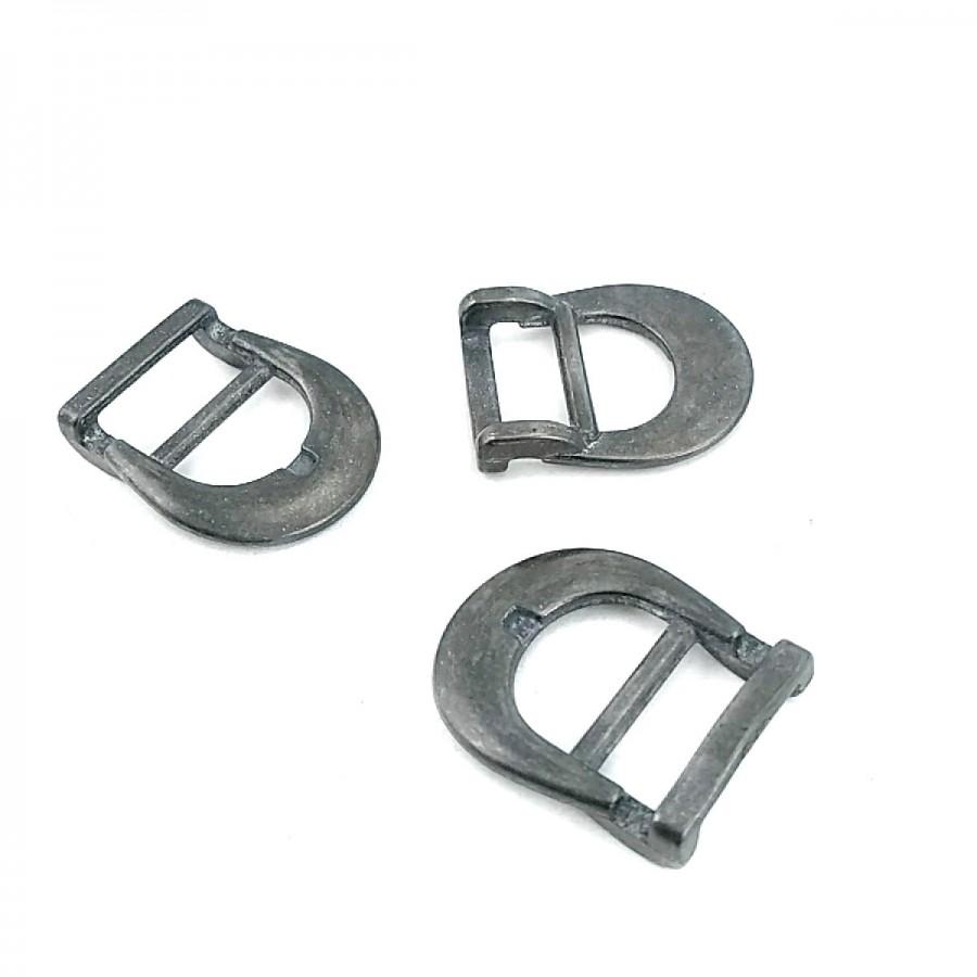 15.50 mm Metal Dilsiz Kemer Tokası T0033