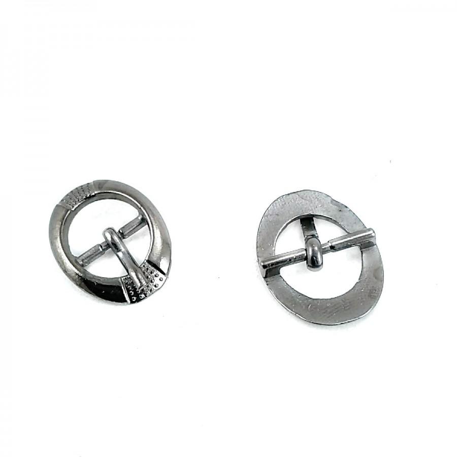 12.5 mm Metal Dilli Kemer Tokası T0038