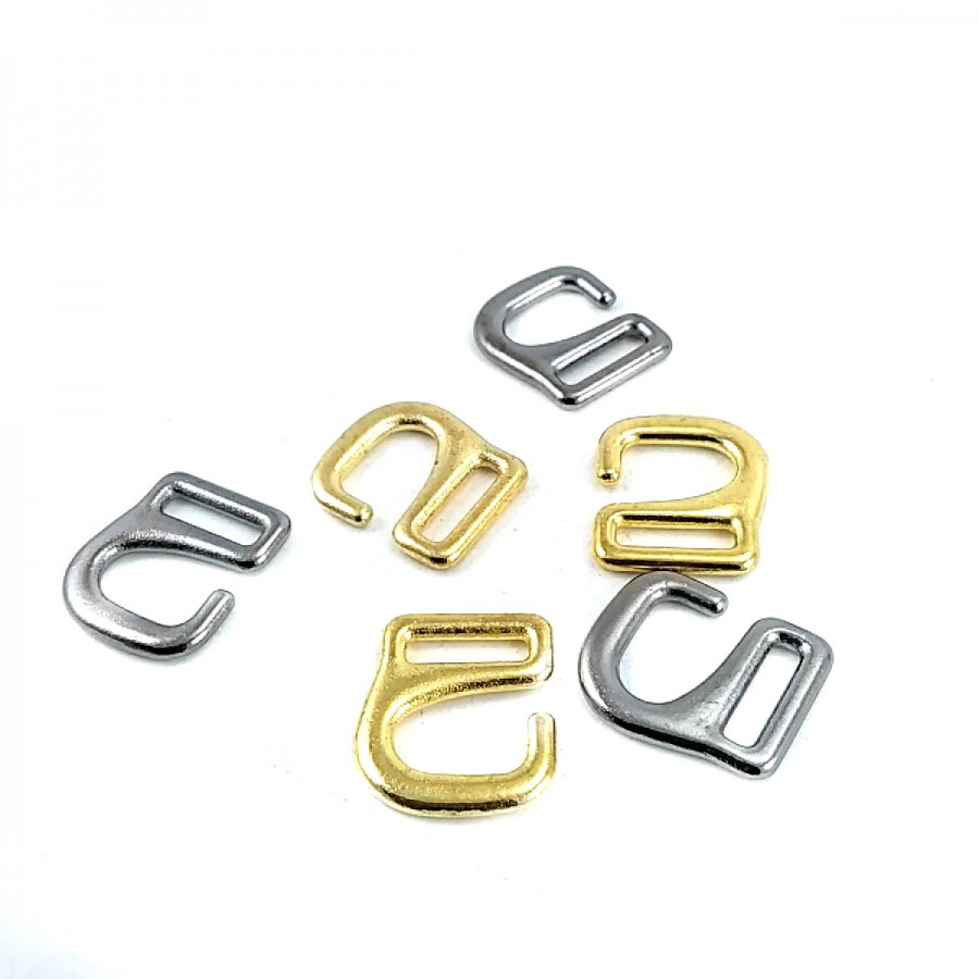 10.2 mm Metal Sütyen Tokası  T0039