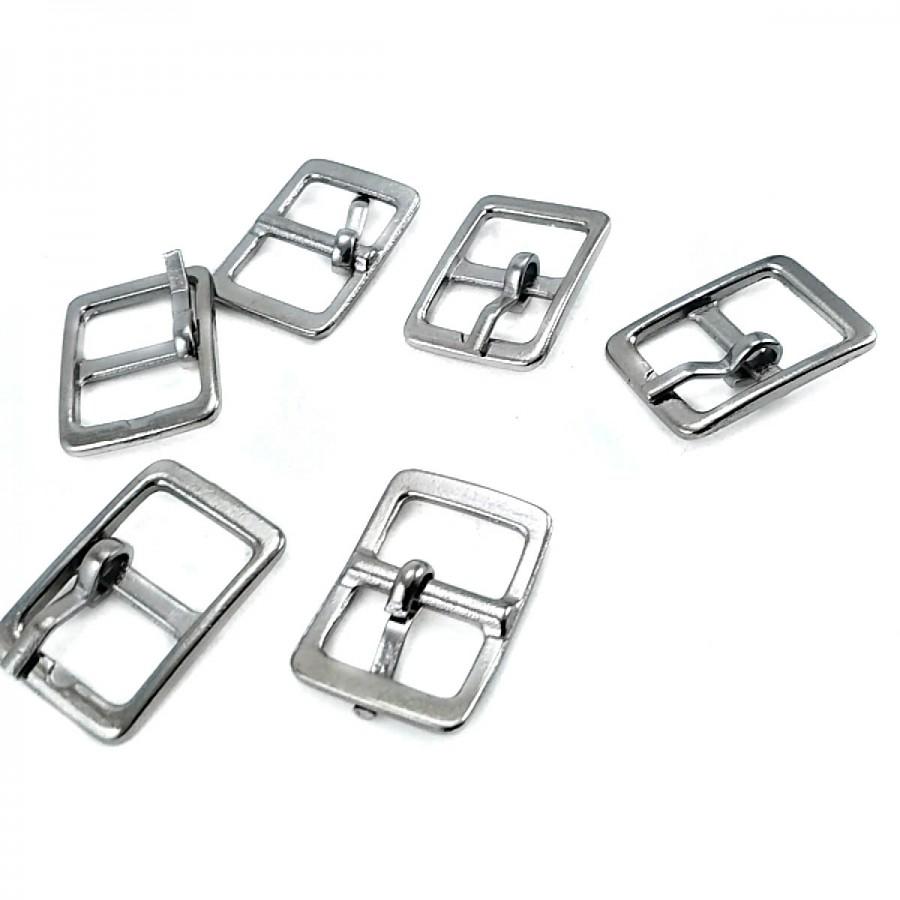 12.5 mm Metal Dilli Kemer Tokası (TK0033) T0045